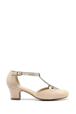 Hotter Darcy Buckle Fastening Court Shoes