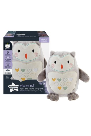 Tommee Tippee Ollie Owl Rechargeable Gro Friend Night Light