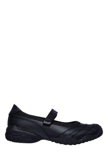 Skechers® Kids Black Mary Jane Trainer