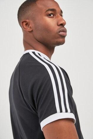 adidas 3 Stripe Night Cargo T Shirt   Adidas shirt outfit