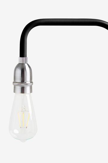 Black Brooklyn Floor Lamp