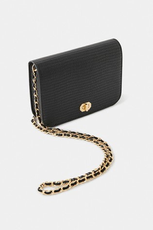 Accessorize Black Evie Cross Body Bag