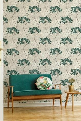 Fresco Lykke Tree Wallpaper by Art For The Home