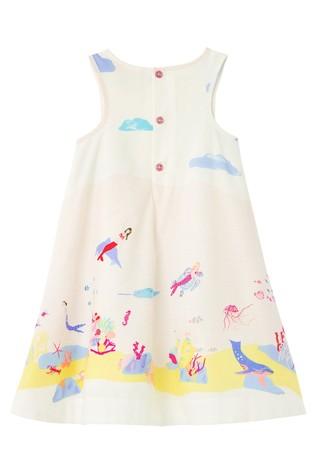 Joules Multi Underwater Bunty Border Dress