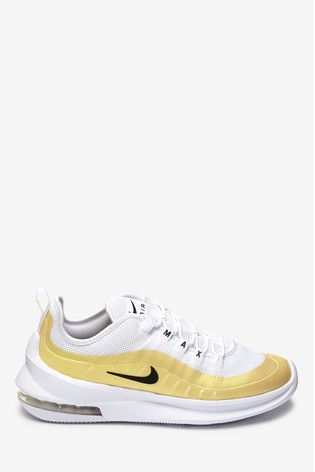 Nike WhiteGold Air Max Axis Trainers
