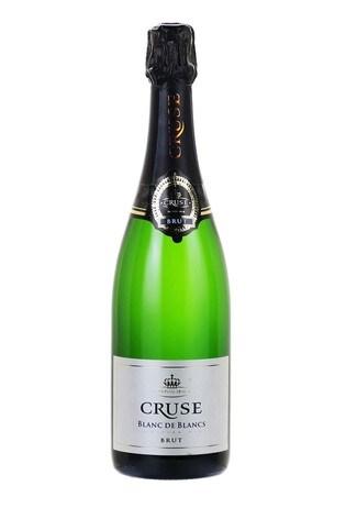 Cruse Blanc De Blancs Sparkling Brut 75cl by Le Bon Vin