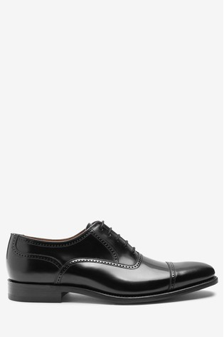 Black Loake For Next High Shine Toe Cap