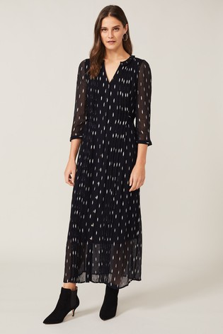 Phase Eight Blue Komal Shimmer Maxi Dress
