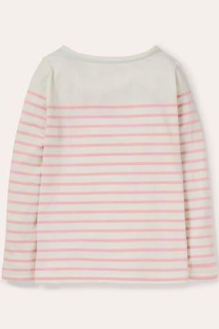Boden Pink Everyday Breton T-Shirt