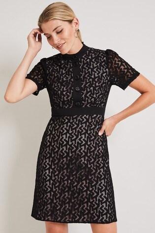 Damsel In A Dress Black Brair Lace Dress