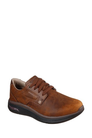 Skechers® Brown Arch Fit Edge Shoes