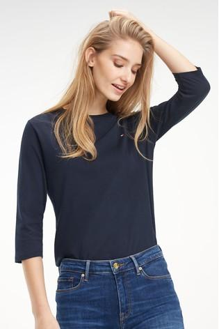 Tommy Hilfiger Heritage 3/4 Sleeve T-Shirt