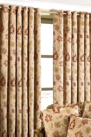 Riva Paoletti Zurich Eyelet Curtains
