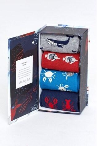 Thought Multi Ocean Sock Box