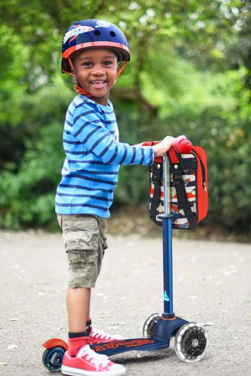 Micro Scooter Mini Deluxe Navy Scooter 2-5 Years