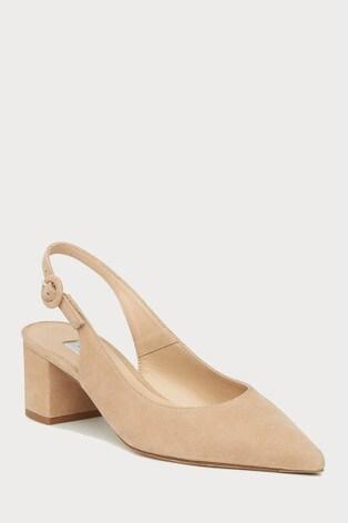Buy L.K.Bennett Cream Ada Block Heel