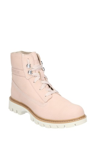 CAT® Lifestyle Brown Basis Lace-Up Shoes