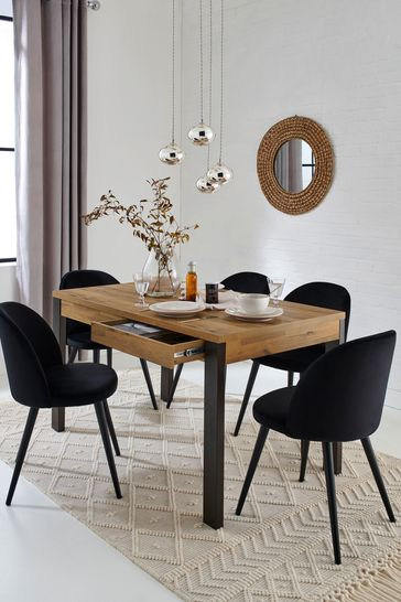 Bronx 6 Seater Storage Dining Table