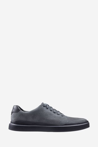 Cole Haan Black Grandpro Rally Laser Cut Trainers