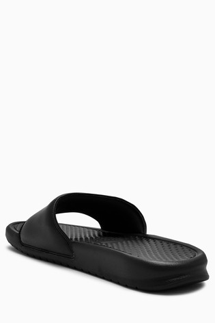 Nike Black Benassi Just Do It. Sliders