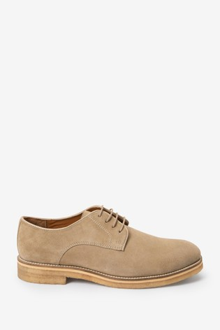 Stone Modern Heritage Crepe Sole Suede Derby Shoes