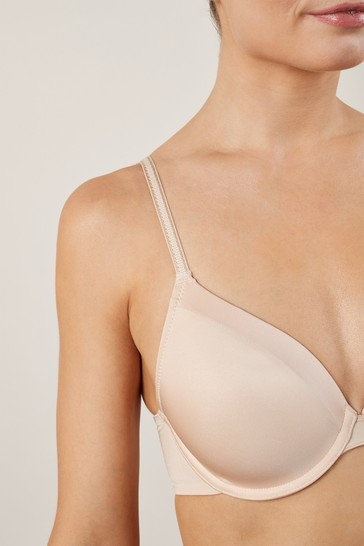Nude Full Cup Light Pad T-Shirt Bras 2 Pack