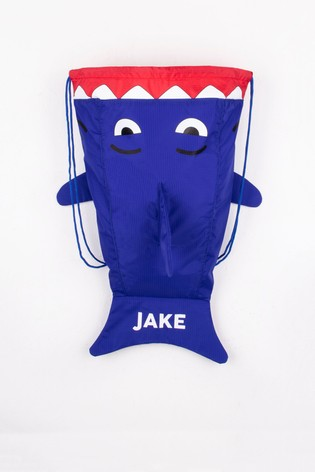 Personalised Shark P.E Bag