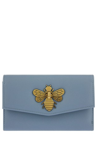 Accessorize Blue Britney Bee Wallet