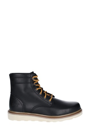 CAT® Lifestyle Black Chronicle Lace-Up Boots