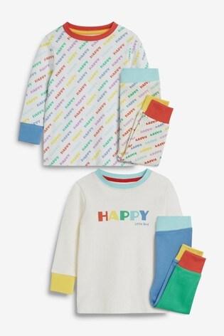 Little Bird Happy Pyjamas 2 Pack