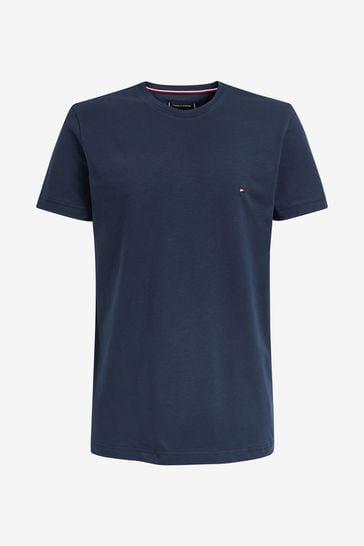 Tommy Hilfiger Navy New Stretch T-Shirt
