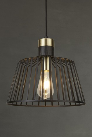 Lotus Frame 1 Light Pendant by Searchlight