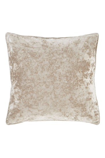 Crushed Velvet Cushion by Catherine Lansfield