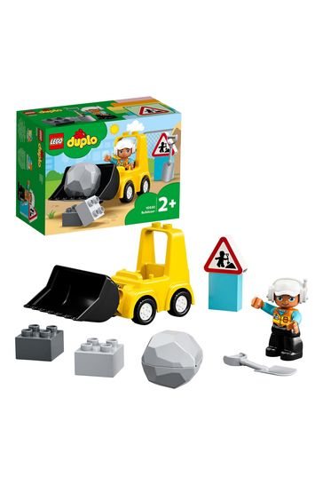 LEGO 10930 DUPLO Bulldozer Construction Vehicle Toy Set