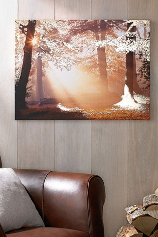 Metallic Forest Wall Art by Art For The Home