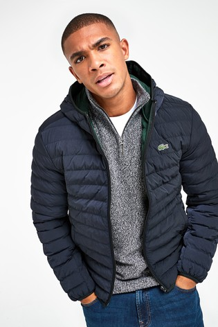 Lacoste® Black Padded Jacket