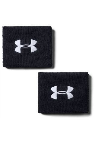 Under Armour Performance Wristbands Two Pack