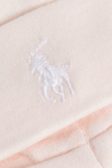 Ralph Lauren Pink Baby Hat