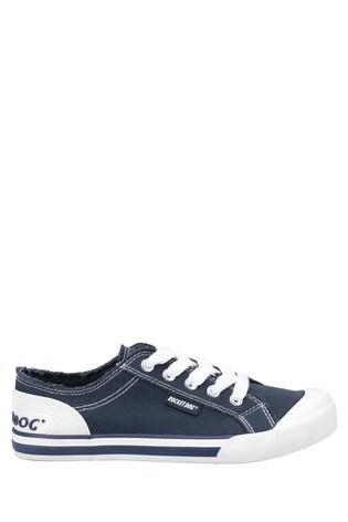 Rocket Dog Blue Jazzin Canvas Lace-Up Shoes
