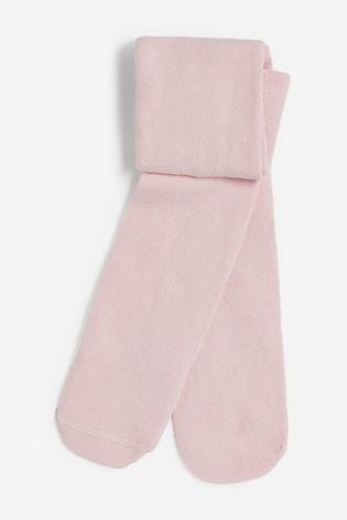 Pink 1 Pack Tights (0mths-2yrs)