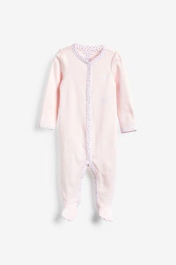 Ralph Lauren Pink Babygrow