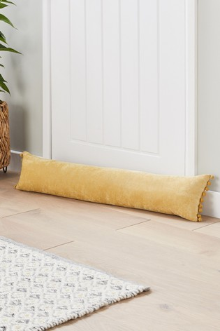 Soft Velour Draught Excluder
