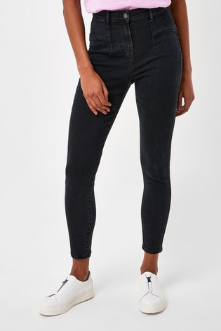 Black Ultra Shaper Stretch Skinny Jeans