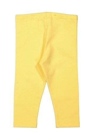 Polarn O. Pyret Yellow Organic Leggings