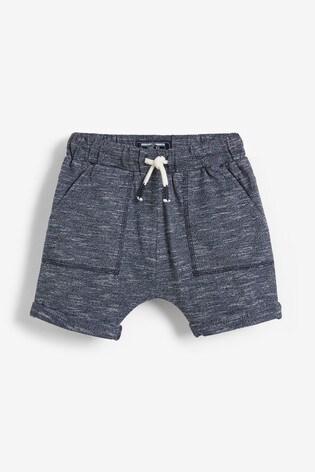 Blue/Navy 3 Pack Lightweight Textured Shorts (3mths-7yrs)