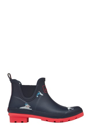 Joules Blue Wellibobs