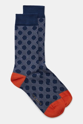 Ted Baker Sandkey Spot Design Socks