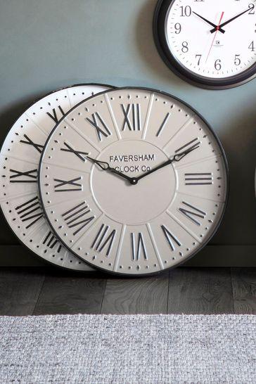 Gallery Direct Kilbride Mirage Grey Clock