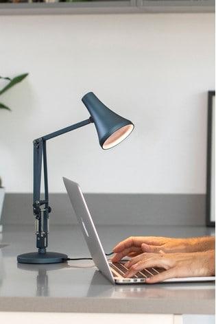 Anglepoise 90 Steel Blue Mini Desk Lamp