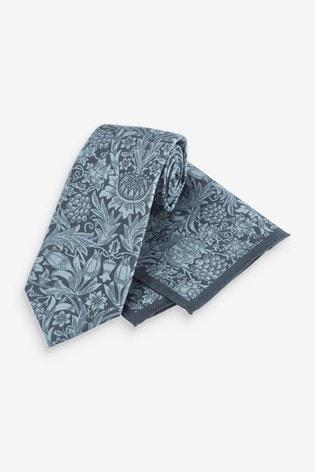 Sunflower Regular Morris & Co. at Next Signature Tie And Pocket Square Set